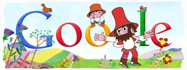 Google Logo: Václav Čtvrtek's 100th birthday - Czech children's literature writer