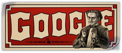 137. výročí narození - Harryho Houdiniho