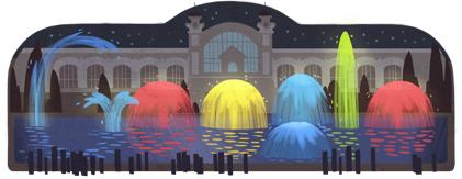 Google Logo: František Křižík's 165th birthday - Czech ingineer, inventor of the arc lamp