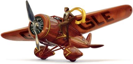 115. výročí narození Amelie Earhartové