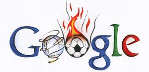 Google Logo: Doodle 4 Google 'I Love Football' National Winner - Czech Republic
