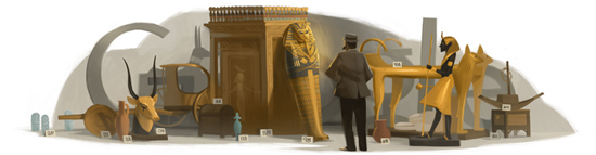 138. výročí narození Howarda Cartera